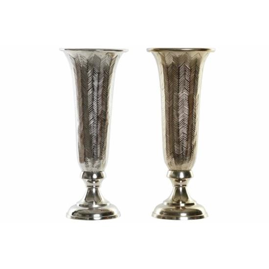 Váza aluminium 13x13x34 2 féle