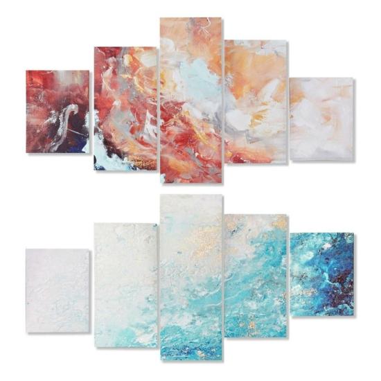 Kép szett 5db-os vászon 150x1,8x80 felhős 2 féle