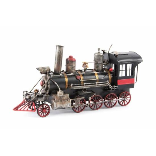 Vonat dekoráció fém 41x12x18