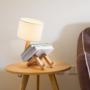 Kép 4/4 - robot formájú asztali lámpa