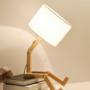 Kép 3/4 - robot formájú asztali lámpa