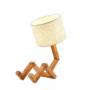 Kép 1/4 - robot formájú asztali lámpa