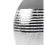 Kép 2/4 - kerámia váza ezüst