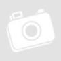 Kép 3/4 - fehér asztali lámpa kerek bambusz talppal