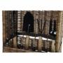 Kép 2/4 - Kosár szett 6db-os fonott 34x22x29 kert természetes