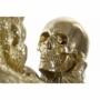 Kép 2/4 - Figura műgyanta 33x32x42 gorilla aranyozott